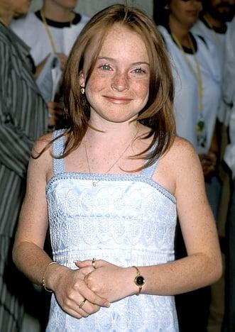 Lindsay Lohan face through the years....