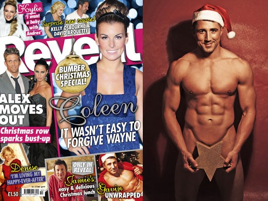 Pictures of Gavin Henson Naked For Reveal in Santa Claus Hat For Christmas Issue