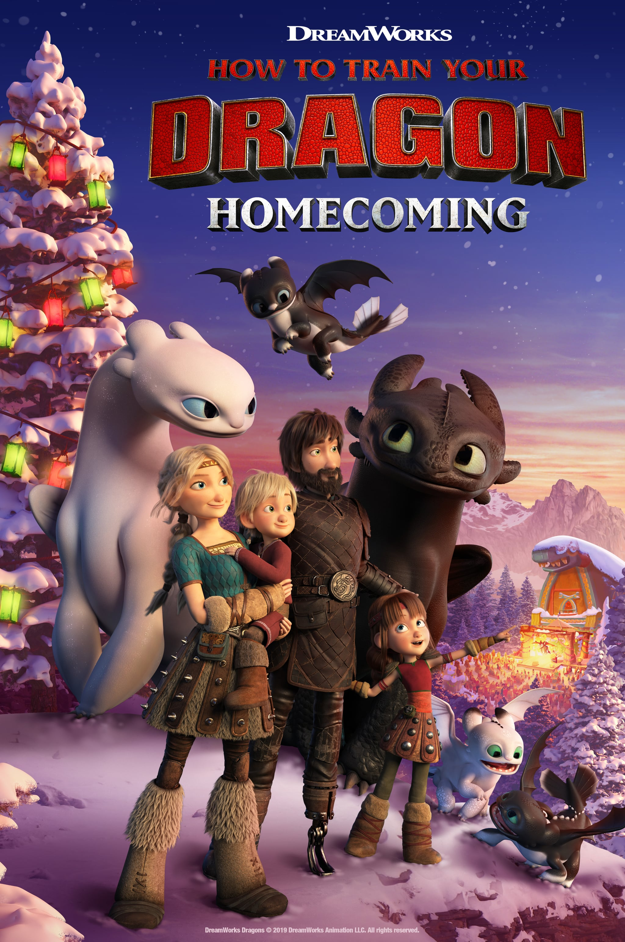 Nbc Christmas Specials 2019.How To Train Your Dragon Homecoming Holiday Special Details