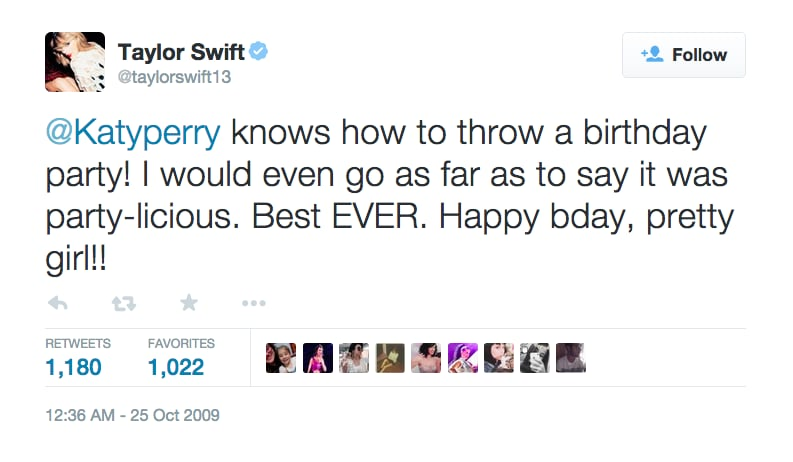 Oct. 25, 2009: Taylor's Birthday Wish