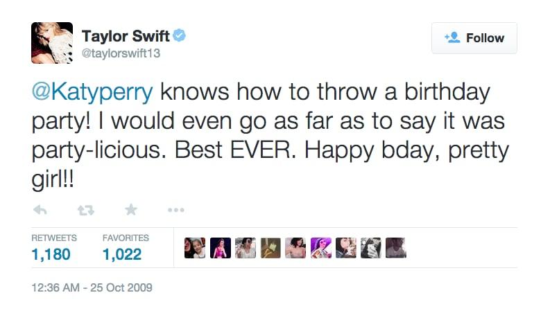 Oct. 25, 2009: Taylor's Birthday Wish