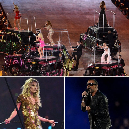 2012 London Olympics Closing Ceremony Celebrity Pictures