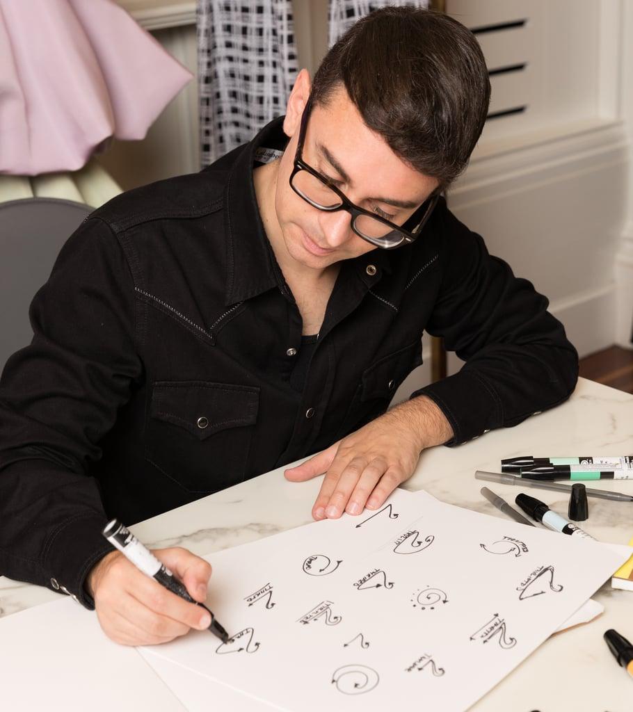 Christian Siriano Creates Universal Symbol For Used Clothing