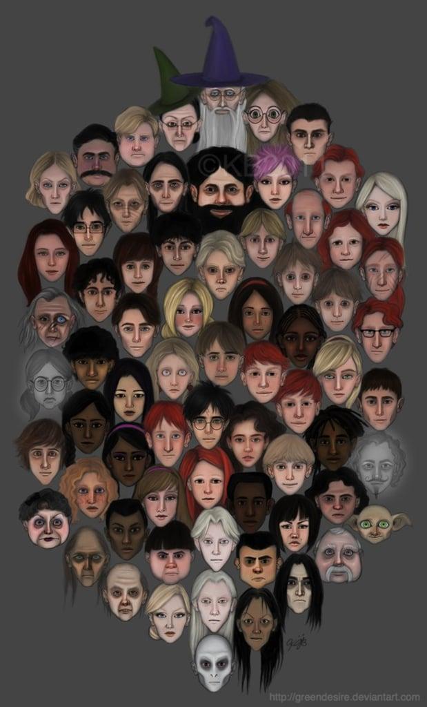 Harry Potter Faces
