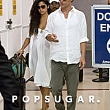 Matthew McConaughey and Camila Alves Wrap Up Their Vacation