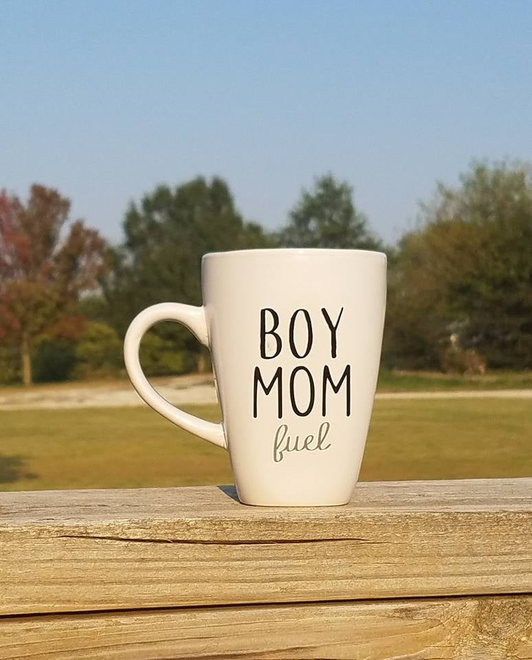 Boy Mom Fuel Coffee Mug