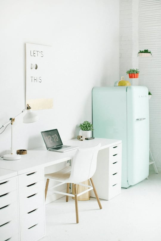 White Desk With Drawers Ikea Desk Hacks Popsugar Home