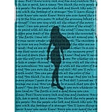 Colors of the Wind Lyrics case ($25)