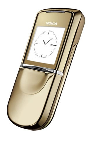 18-Carat Gold Nokia 8800 Sirocco