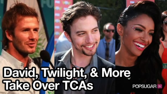 Video of David Beckham, Twilight Cast, and More at 2010 Teen Choice Awards