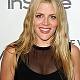 Busy Philipps gave a smile for photographers at the Forevermark and InStyle Golden Globe event.