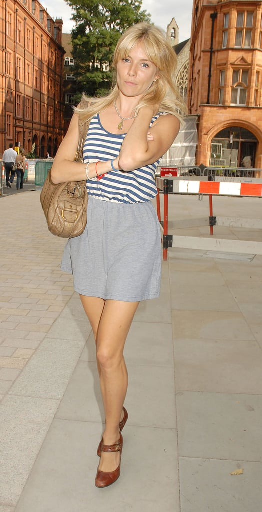 Pictures of Sienna Miller After Haircut in London