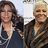 April: Aretha Franklin vs. Dionne Warwick