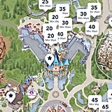 Use the free Disneyland app to view wait times.