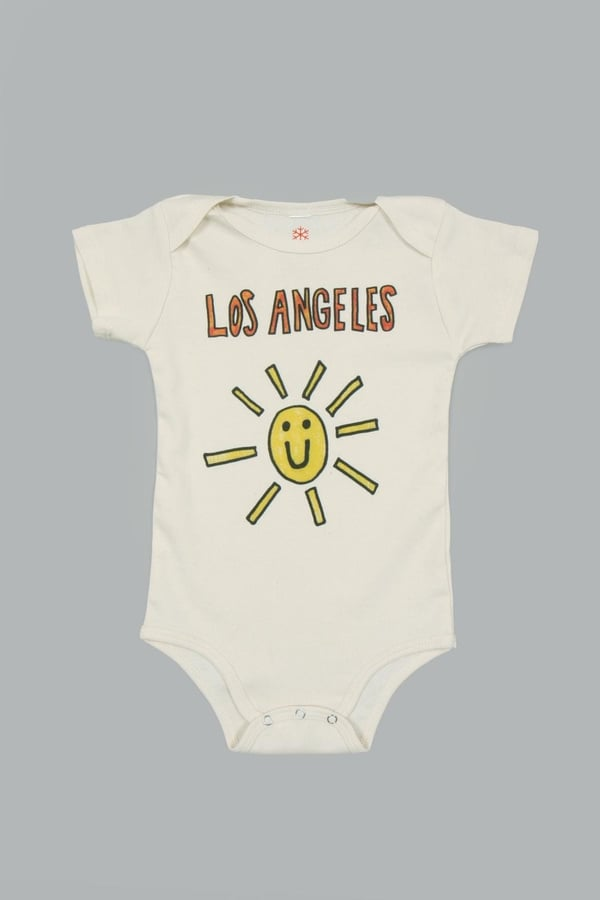 Orange Heat Organic La Sunshine Onesie