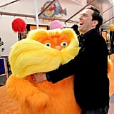 Ed Helms showed the Lorax some love.