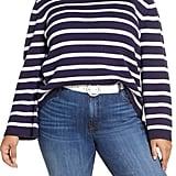 Halogen x Atlantic-Pacific Stripe Oversize Sweater Curve