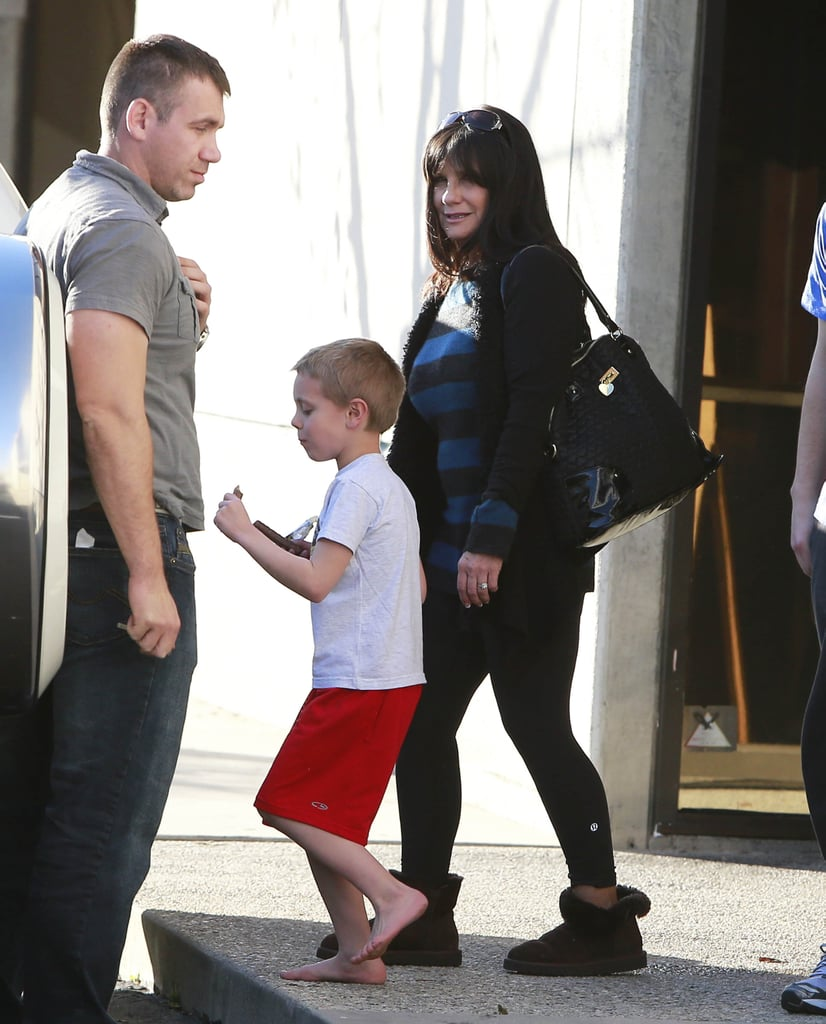 Britney Spears's mom, Lynn Spears, went to an indoor playground with Britney and her kids.