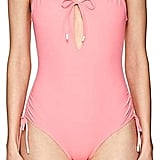 Kisuii Women's Uma Keyhole One-Piece Swimsuit