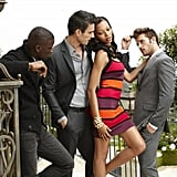 Bianca had to act flirtatious during her photo shoot.  Photo courtesy of The CW