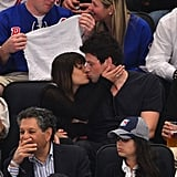 Lea Michele and Cory Monteith weren't paying much attention to the New York Rangers game at Madison Square Garden in May.