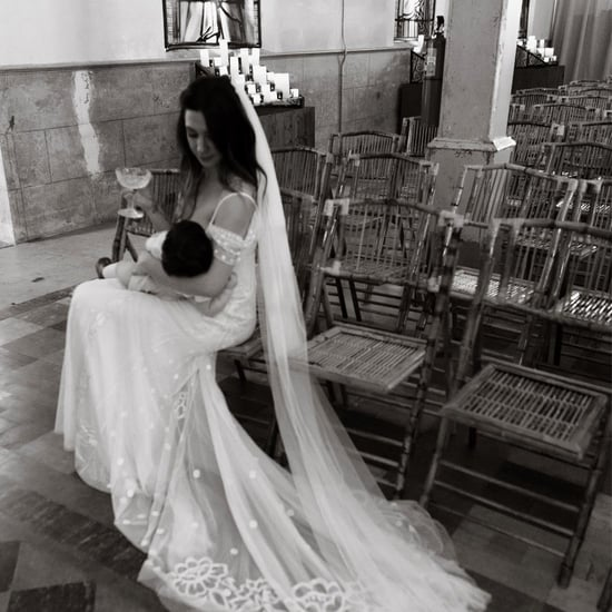 Michelle Branch's Breastfeeding Wedding Photo