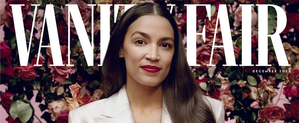 Alexandria Ocasio-Cortez On Beauty & Lipstick in Vanity Fair