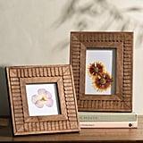 Madeline Wood Scalloped Frame