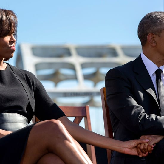 Pete Souza's Obamas Holding Hands Photo