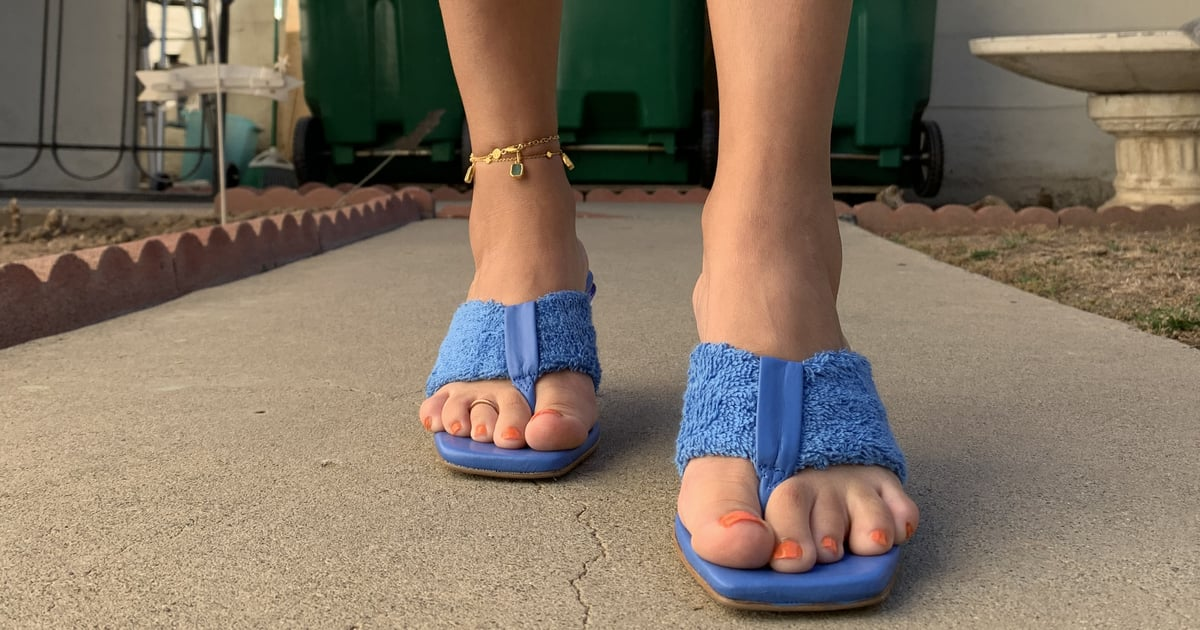 These Summer Sandals Gave My Unpedicured Toes Major FOMO, So I Painted Them