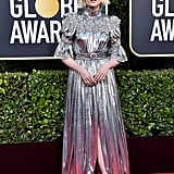 Lucy Boynton at the 77th Annual Golden Globe Awards