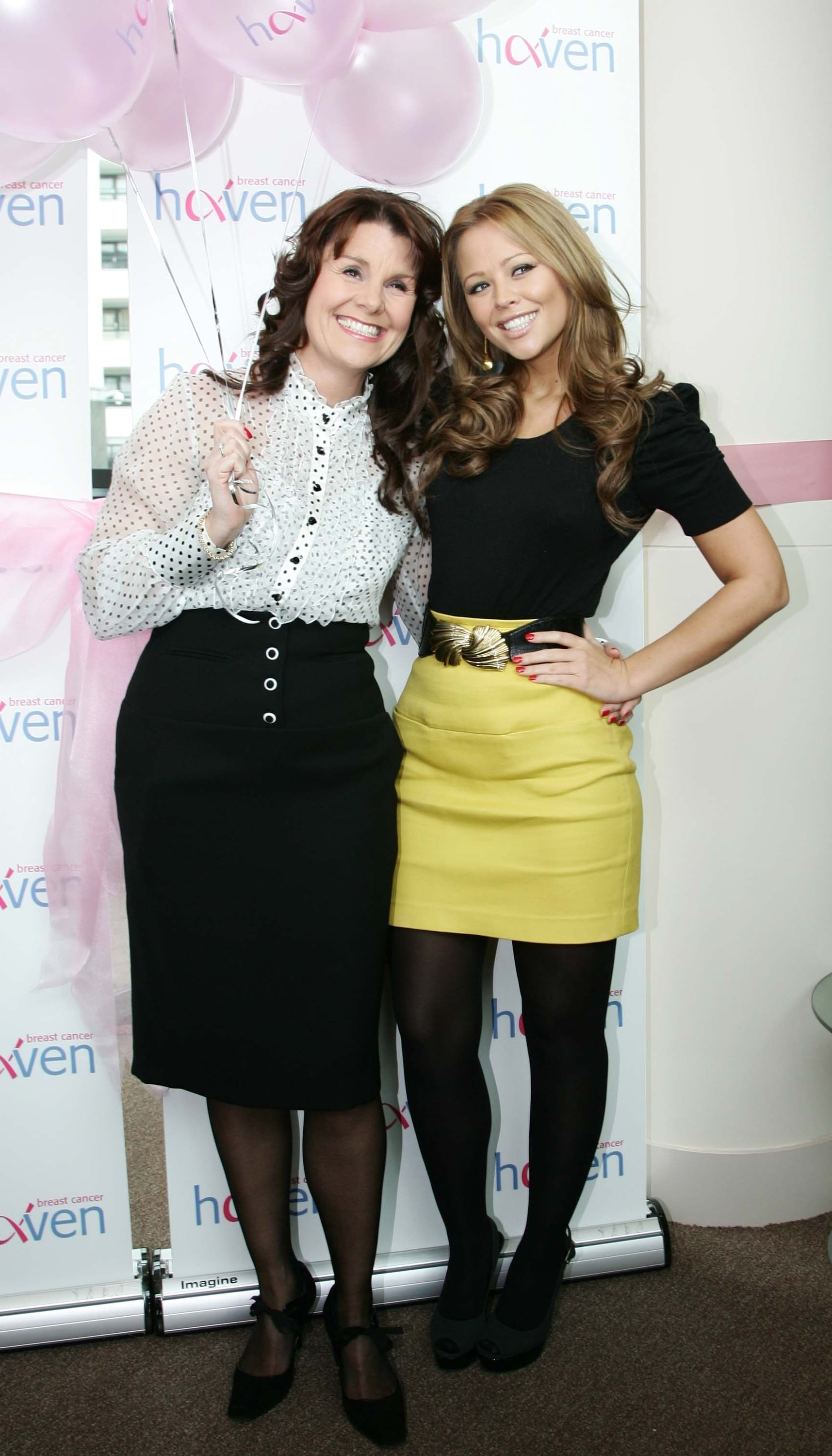 One Source Auto >> Photos of Girls Aloud's Kimberley Walsh Opening a Haven Breast Cancer Centre in Leeds | POPSUGAR ...