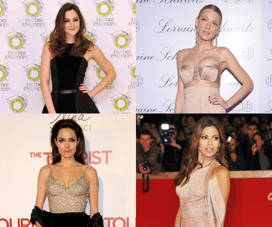 Photos of Celebrities Wearing Versace on the Red Carpet in 2010