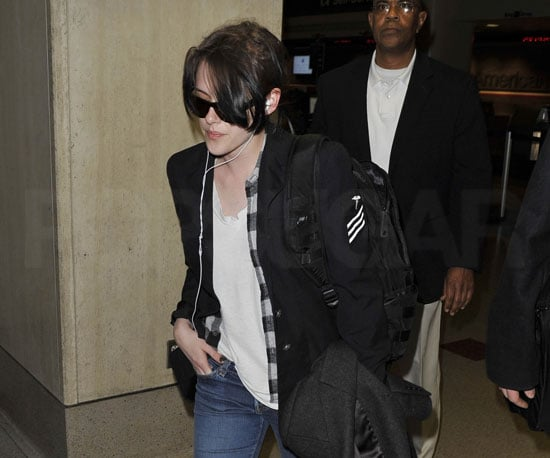 Slide Photo of Kristen Stewart at LAX