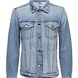 Oversized Denim Jacket ($265)