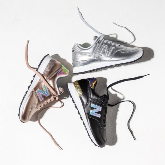 New Balance Metallic Glitter Sneakers
