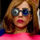 Lady Gaga With Auburn Hair