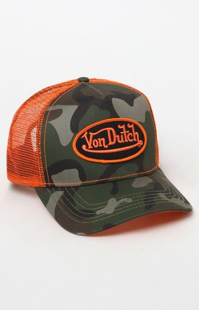 Von Dutch 270 Camouflage Snapback Trucker Hat