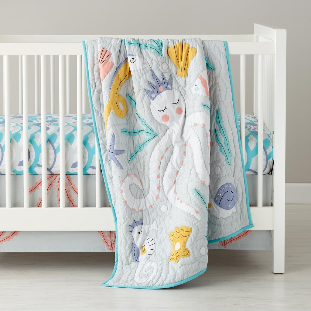 The Land Of Nod Marine Queen Crib Bedding Kids And Baby Bedding
