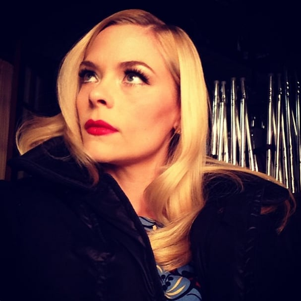Old Hollywood glamour looked even chicer thanks to Jamie King's golden filter. Source: Instagram user jaime_king