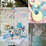 A Vintage Baby Shower