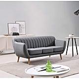 US Pride Furniture Eli Fabric Sofa