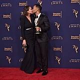 ردّة فعل كريسي تيغن بعد فوز جون ليجند برباعي الجوائز العالمي