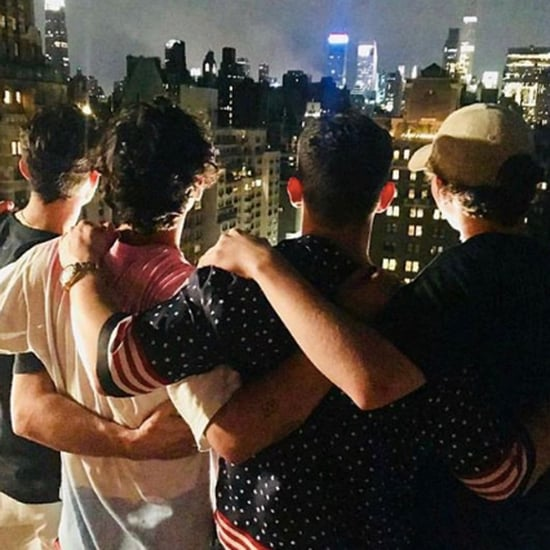Joe Jonas and Nick Jonas Fourth of July Pictures