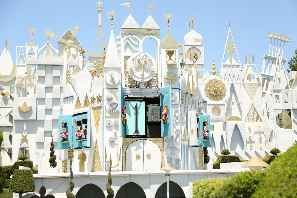 The It's a Small World ride will make you feel like a giant.