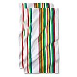 Set of Two Multi-Stripe Beach Towels ($13)