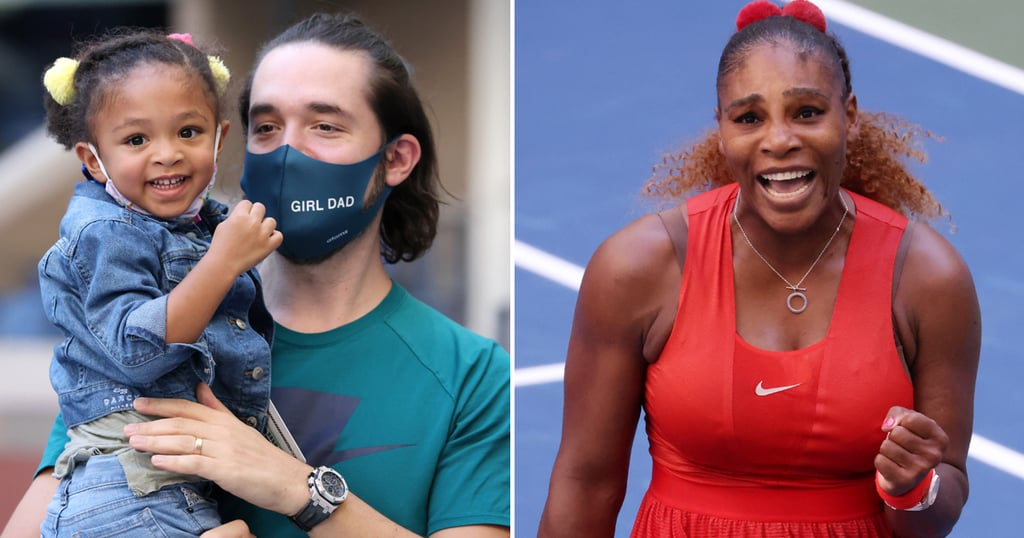 Serena Williams Gets Support From Her Daughter at US Open