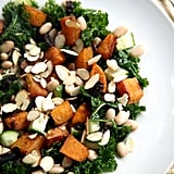 Maple-Roasted Butternut Squash, Kale, and White Bean Salad
