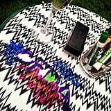 Partygoers got creative with Missoni at the label's bash.  Source: Instagram user cfda