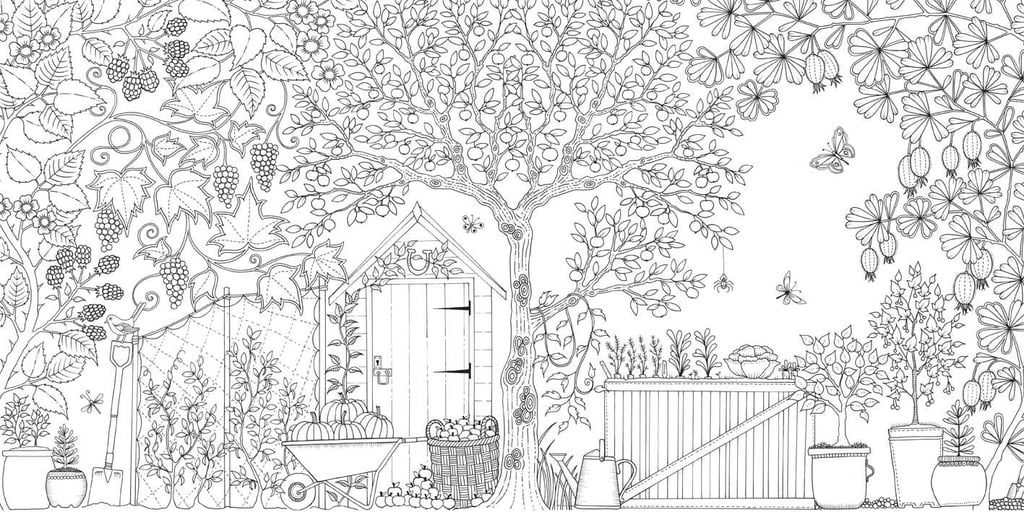 Coloring Books For Adults | POPSUGAR Smart Living Photo 3